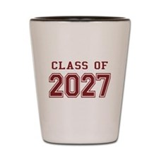 Class of 2027 (Red) Shot Glass