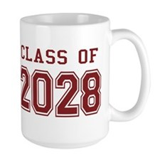 Class of 2028 (Red) Mug