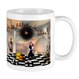 Don't get pulled in Alice Small Mug