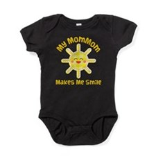 My MomMom Makes Me Laugh Baby Bodysuit