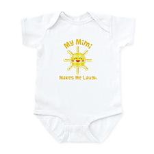 My Mimi Makes Me Laugh Infant Bodysuit