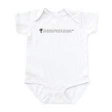 Parental Disclaimer (daughter Infant Bodysuit