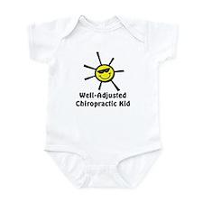 Well-Adjusted Chiro Kid Infant Bodysuit