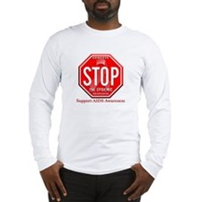 AIDS Awareness Long Sleeve T-Shirt