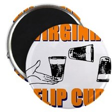 Virginia Flip Cup Magnet