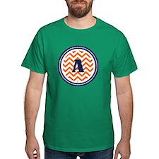 Orange & Navy T-Shirt