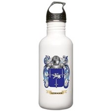 Gorman Coat of Arms (Family Crest) Water Bottle