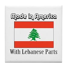 Lebanese Parts Tile Coaster
