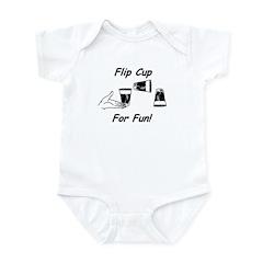 Flip Cup -- For Fun! Infant Bodysuit