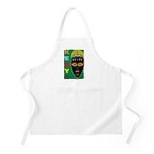 Kenya Mask BBQ Apron