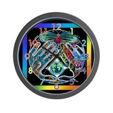 Five Elements Mandala 10 inch Wall Clock