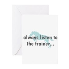 the Trainer Greeting Cards (Pk of 10)