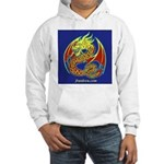 Hooded Two-sided Celtic Dragon Sweatshir