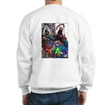 Wolf/Roses Two-sided Sweatshirt