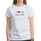 Love My Cymric Cat Tee