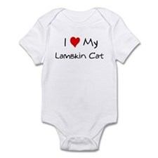 Love My Lambkin Cat Infant Bodysuit