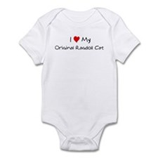 I Love Original Ragdoll Cat Infant Bodysuit