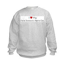 Love My Feral Domestic Hybrid Sweatshirt