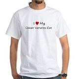 I Love Ocicat Variants Cat Shirt