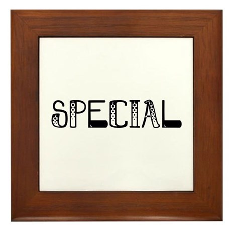 Special Framed Tile