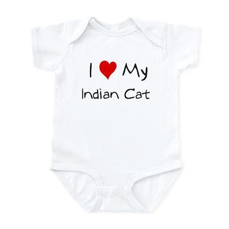 Love My Indian Cat Infant Bodysuit