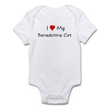 Love My Benedictine Cat Infant Bodysuit