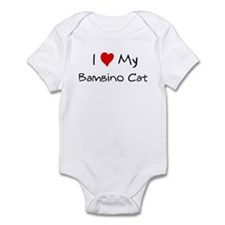 Love My Bambino Cat Infant Bodysuit