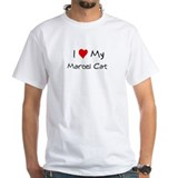 I Love Marcel Cat Shirt