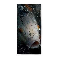 Hungry Koi Beach Towel