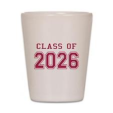 Class of 2026 (Pink) Shot Glass