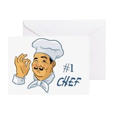 Chef Greeting Card