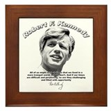 Robert F. Kennedy 01 Framed Tile