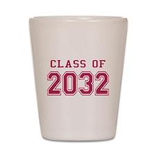 Class of 2032 (Pink) Shot Glass
