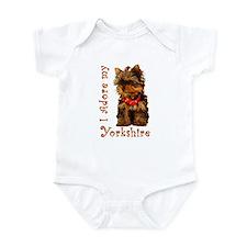Yorkie Puppy Infant Bodysuit