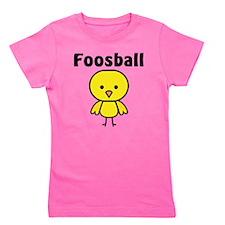 Foosball Chick Girl's Tee