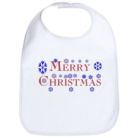Merry Christmas Bib