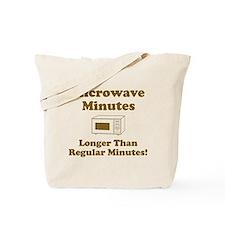 Microwave Regular Minutes Tote Bag