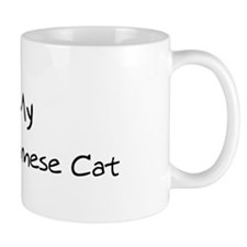 Love My Snowshoe Siamese Cat Mug