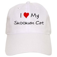 Love My Skookum Cat Baseball Cap