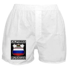 California Russian American Boxer Shorts