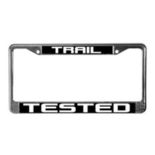 Trail Tested License Plate Frame