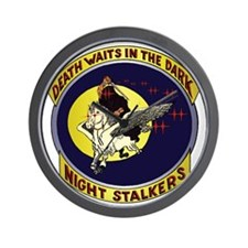 Night Stalkers Wall Clock