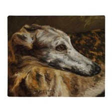 Greyhound Throw Blanket