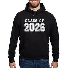 Class of 2026 (White) Hoodie