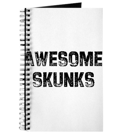 Awesome Skunks Journal