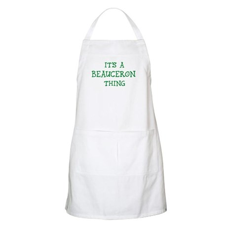Beauceron thing BBQ Apron