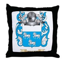 Haley Coat of Arms (Family Crest) Throw Pillow