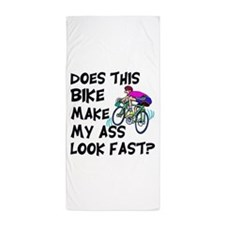 Funny Bike Saying Beach Towel