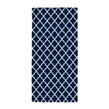 Navy Blue Beach Towel