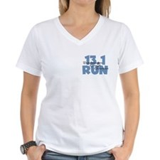 13.1 Run Blue Shirt